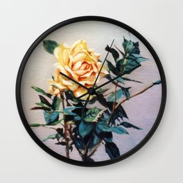 Rosa/Rose Wall Clock