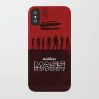 mass effect iPhone & iPod Cases featuring Mass Effect 1 by Bill Pyle