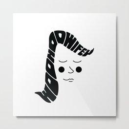 Woohoo Wifey Metal Print