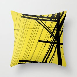 SP wires 3 Throw Pillow