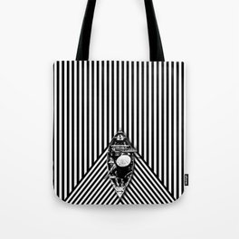Passing through the lines Tote Bag