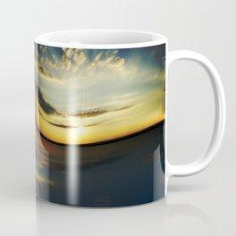 Sunset Yin Yang Coffee Mug