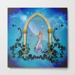Wonderful dancing fairy Metal Print