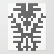 Teufelhirsch Canvas Print