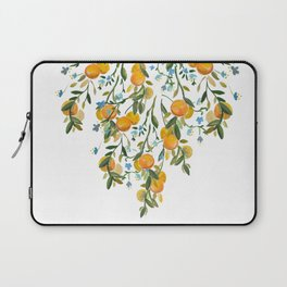 A Bit of Spring and Sushine Trailing Oranges Laptop Sleeve