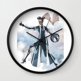 Blue New York City Wall Clock
