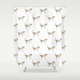 Lunchbox the Dog Shower Curtain