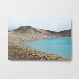 Blue (Lake) isn't the warmest color. Metal Print