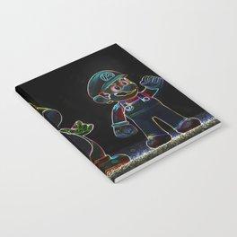 Luigi, Yoschi and Mario Notebook