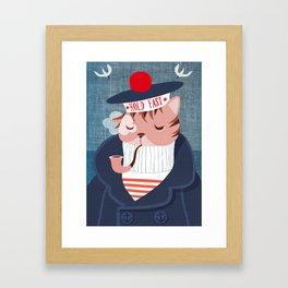 hold fast Framed Art Print