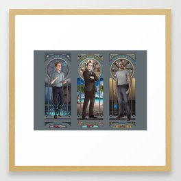 Art Nouveau - AoS Men Framed Art Print