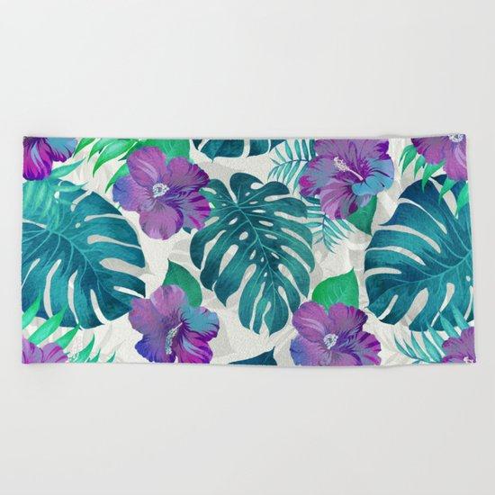 My Tropical Garden 20 Beach Towel