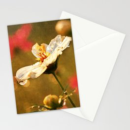 Flowers in the Rain Stationery Cards