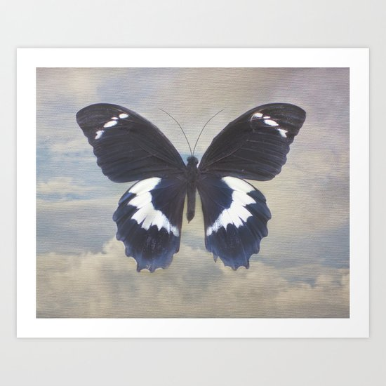 Butterfly Sky Art Print