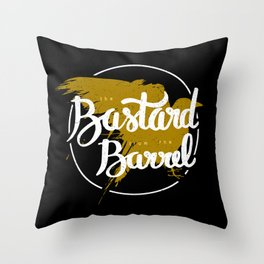 the bastard from the barrel Throw Pillow