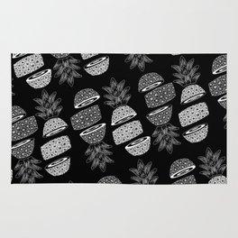 Pineapples (Dark/Sliced) Rug