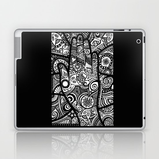 The hand of righteousness Laptop & iPad Skin