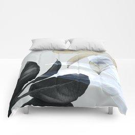 Moody Leaves II Comforters