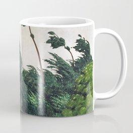 Felix Edouard Vallotton - The Wind - Digital Remastered Edition Coffee Mug