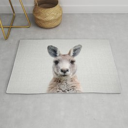 Kangaroo - Colorful Rug
