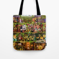 The Poetry of Wine Tote Bag