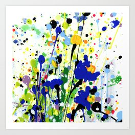 Deep In The Meadow 2 by Kathy Morton Stanion Art Print