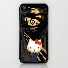 The Halloween Screaming cat apple iPhone 4 4s 5 5s 5c, ipod, ipad, pillow case and tshirt iPhone (5, 5s) Slim Case
