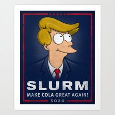 Make Cola Great Again! Art Print