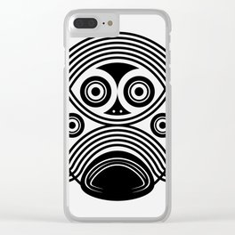 stormtrooper tribal Clear iPhone Case