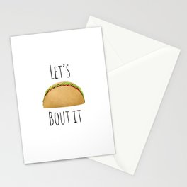 Let's Taco Bout It Stationery Cards