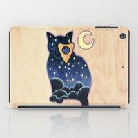 ouija iPad Cases featuring Ouija Cat by Kiki Stardust (OLD)