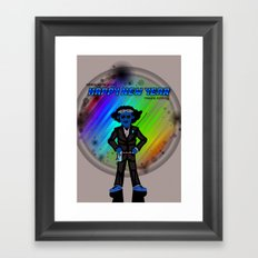Happy New Year in the Future Framed Art Print