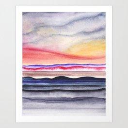 Abstract nature 07 Art Print