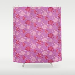 Roses pattern 3c Shower Curtain