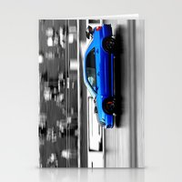 subaru Stationery Cards featuring Subaru Racer by VHS Photography