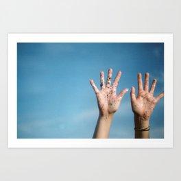 set our spirits free Art Print