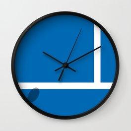 """""""IN"""" – Hawk-Eye Wall Clock"""
