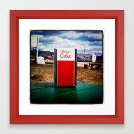 Have a Coke Framed Art Print
