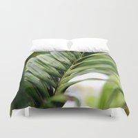 fern Duvet Covers featuring Fern by JMPhotography