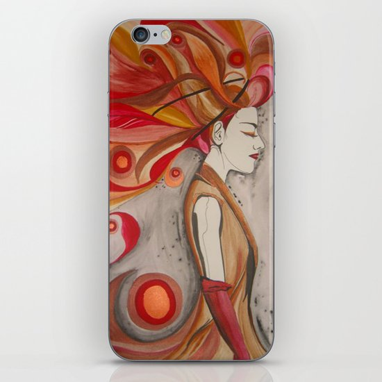 Elemental Couture: Zephyrienne iPhone & iPod Skin