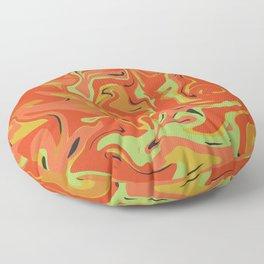 Papaya Juice Floor Pillow