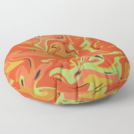 Papaya Juice Floor Pillow