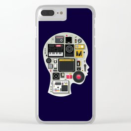 music memento Clear iPhone Case