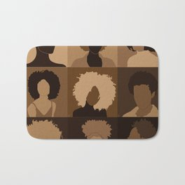 FOR BROWN GIRLS COLLECTION COLLAGE Bath Mat