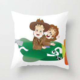 Fun Land  Throw Pillow