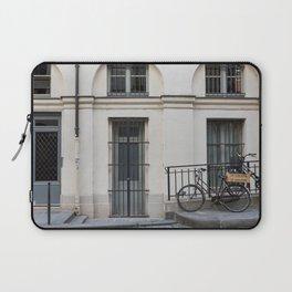 Parked In Paris Laptop Sleeve
