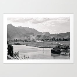 Vietnam Landscape Art Print