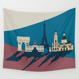 Paris - Cities collection  Wall Tapestry