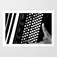 Acordeón Art Print