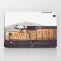 train iPad Cases featuring Train by Kristine Ridley Weilert